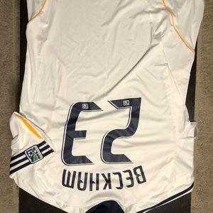 David Beckham LA Galaxy home jersey